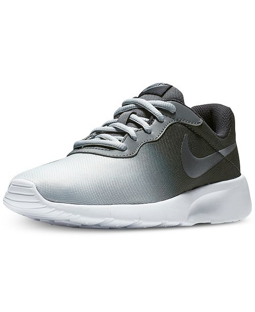 580710fb33f ... inexpensive nike boys tanjun print casual sneakers from finish line  finish line athletic shoes kids macys