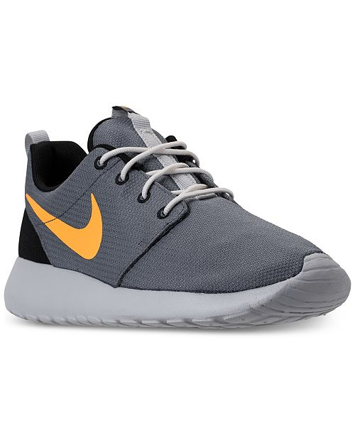 4059cd4922a Nike Men s Roshe One Casual Sneakers from Finish Line   Reviews ...