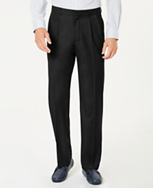 Dockers® Men's Classic-Fit Performance Stretch Double-Pleated Dress Pants