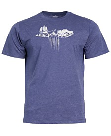 United by Blue Men's Paddle Falls Graphic-Print Tee, from Eastern Mountain Sports