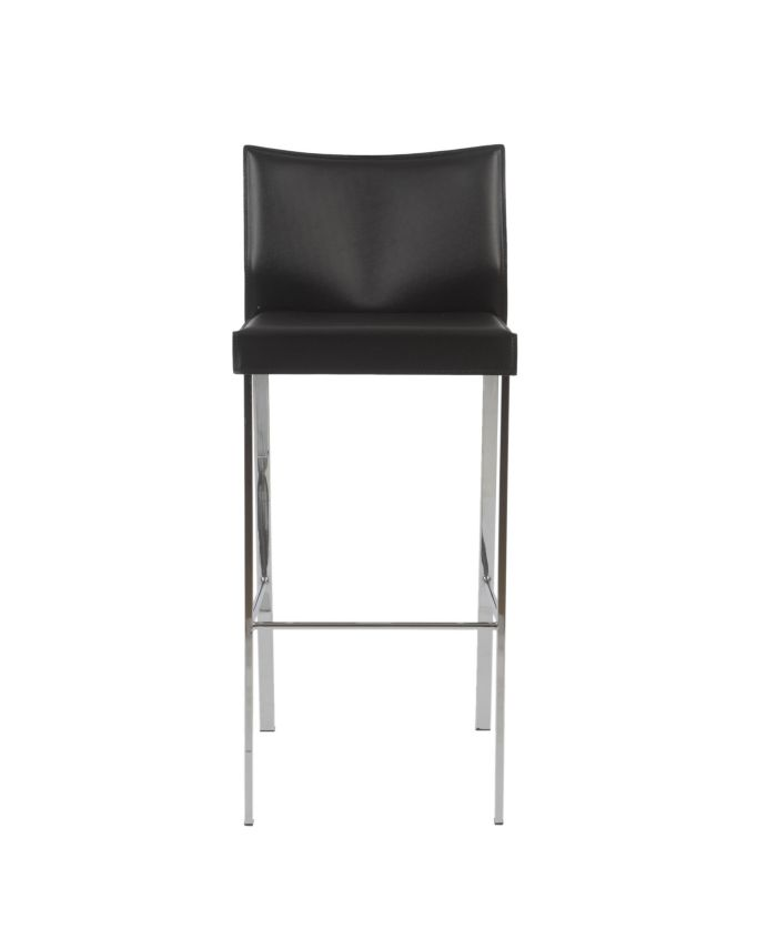 Euro Style Riley Bar Stool (Set Of 2) & Reviews - Furniture - Macy's