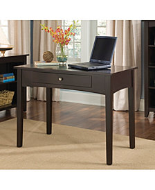 Shaker Cottage Writing Desk, Chocolate