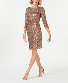 Jessica Howard Petite Sequin Dress