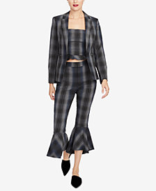RACHEL Rachel Roy Plaid Blazer, Created for Macy's