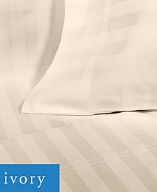 600 TC Sateen Stripe Sheet Set Collection