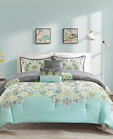 Intelligent Design Zana 4 Piece Comforter Set Collection