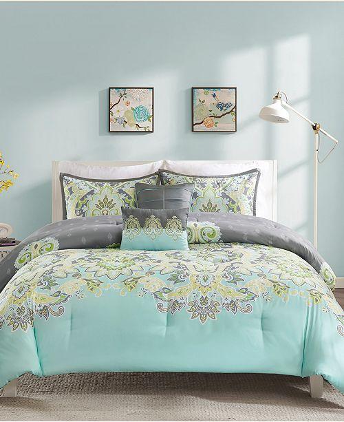Intelligent Design Zana Twin/Twin XL 4 Piece Comforter Set