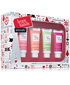 Philosophy 4 Pc Hope Is In Your Hands Holiday Gift Set