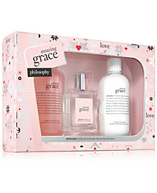 philosophy 3-Pc. Amazing Grace Eau de Toilette Holiday Gift Set