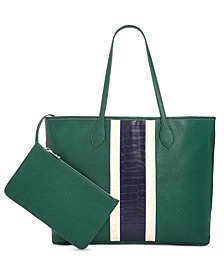 Steve Madden Sperbs Tote With Sport Stripe