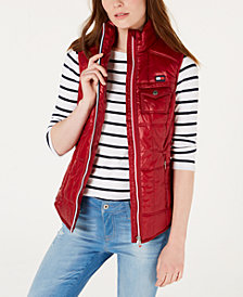 Tommy Hilfiger Sport Quilted Puffer Vest, Created for Macy's