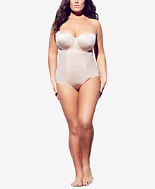 City Chic Trendy Plus Size Adjustable Shaping Bodysuit