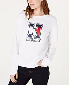 Tommy Hilfiger Thumbhole Logo Top