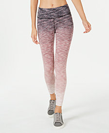 Ideology Space-Dyed Ombré Ankle Leggings