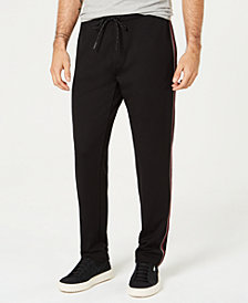 Kenneth Cole Men's Stripe Track Pants