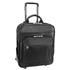 "Wicker Park, 17"" Patented Detachable -Wheeled Three-Way Laptop Backpack Briefcase"