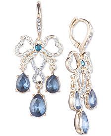 Jenny Packham Pavé & Stone Chandelier Earrings