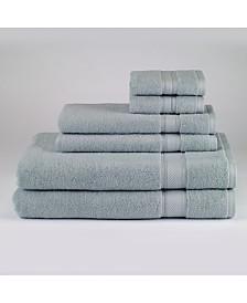 Avanti Splendor Cotton 6-Pc. Solid Towel Set