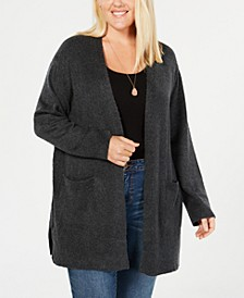 Plus Size Open Cardigan, Created for Macy's