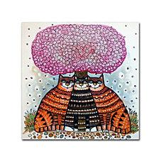 Oxana Ziaka 'A Cherry Blossom Season' Canvas Art Collection