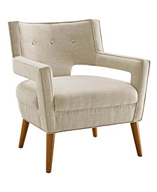 Modway Sheer Upholstered Fabric Armchair