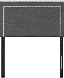 Jessamine Twin Upholstered Fabric Headboard