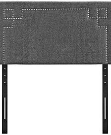 Josie Twin Upholstered Fabric Headboard