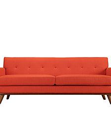 Engage Upholstered Fabric Sofa