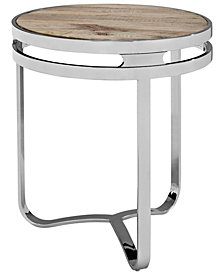 Modway Provision Wood Top Side Table