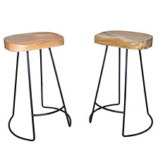 Sublime Counter Stool (Set Of 2), Quick Ship