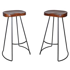 Sublime Bar Stool (Set Of 2), Quick Ship