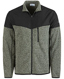 Attack Life by Greg Norman Men's Sweater Fleece Jacket