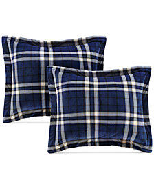 Premier Comfort Reversible Sherpa 4-Pc. Standard/Queen Pillow & Sham Set
