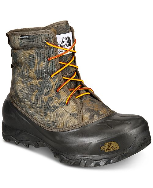 4ace33fcb The North Face Men's Tsumoru Waterproof Winter Boots & Reviews ...