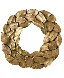Michael Michaud Bay Leaf Wreath Trivet
