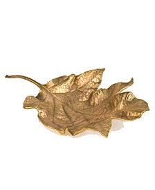 Michael Michaud Hydrangea Leaf Dish