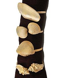 Michael Michaud Shell Assortment Napkin Rings