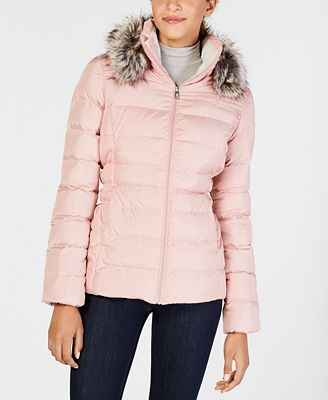 The North Face Gotham Faux Fur Trim Hooded Jacket Jackets Women