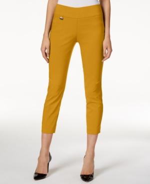 1960s Pants – Top 10 Styles for Women Alfani Tummy-Control Pull-On Capri Pants Regular  Petite Sizes Created for Macys $33.74 AT vintagedancer.com