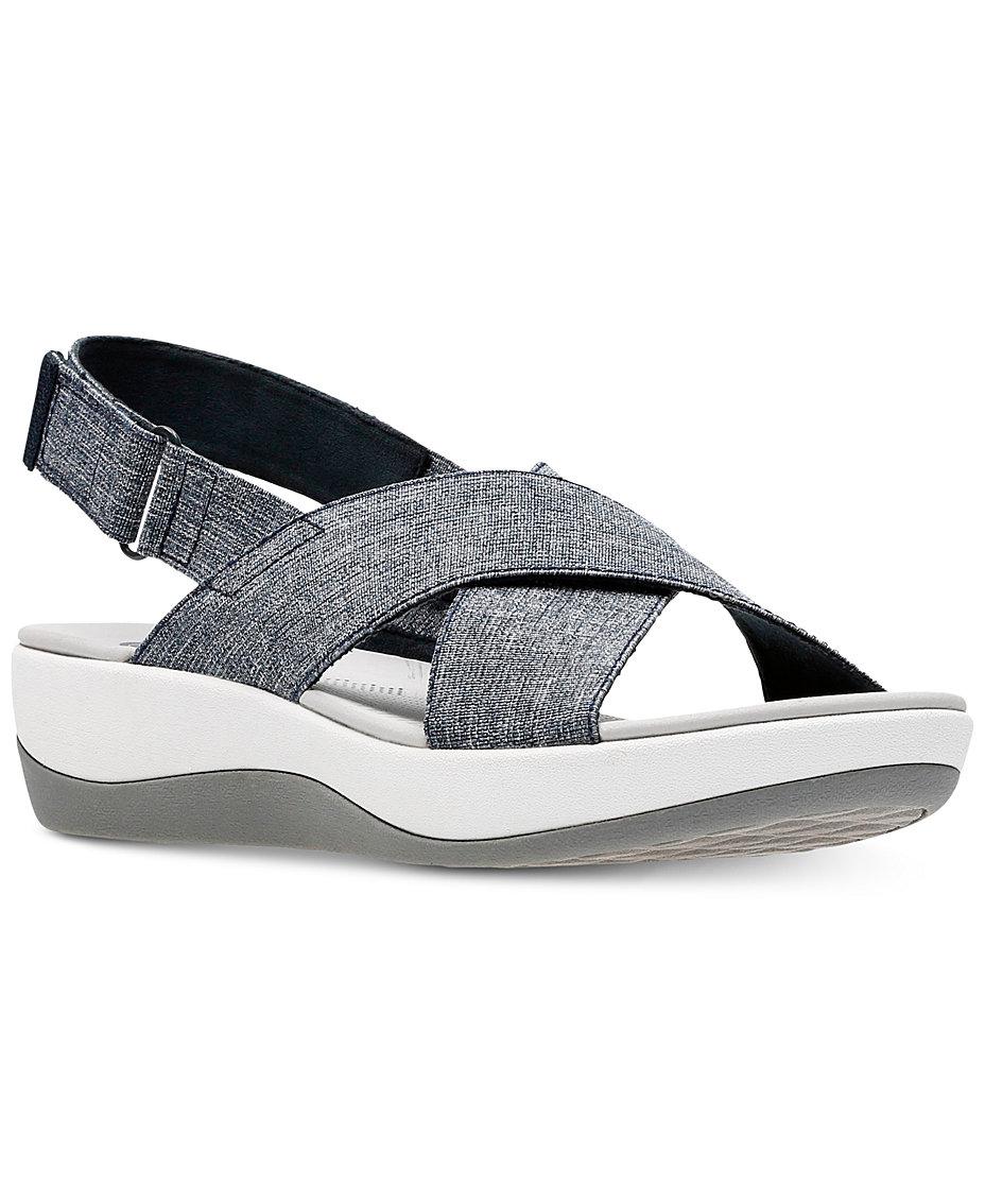 e2cbbdd2687 Clarks Women s Arla Kaydin Cloudsteppers Sandals   Reviews - Sandals ...