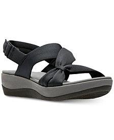 Clarks Collection Women's Cloudsteppers Arla Primrose Sandals