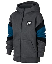 9034662f Nike Big Boys Air-Print Colorblocked Zip-UP Hoodie