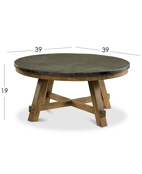 Furniture Breslin Bluestone Occasional Furniture Pc Set Round - Gucci coffee table