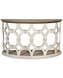 Hadley Demilune Table