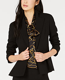 Bar III Single-Button Blazer, Created for Macy's