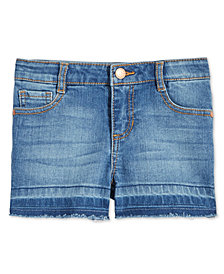 Epic Threads Toddler Girls Frayed-Hem Denim Shorts, Created for Macy's