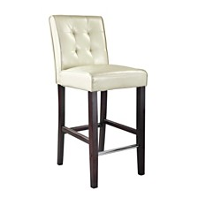 Antonio Tufted Bar Stool, Quick Ship