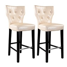Kings Bar Stool (Set of 2), Quick Ship
