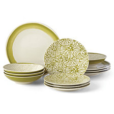 Lenox Market Place Indigo 12-Pc. Dinnerware Set, Service for 4
