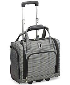 """London Fog Knightsbridge II 15"""" Wheeled Under-Seat Carry-On Suitcase"""